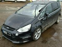 BREAKING FOR PARTS FORD S-MAX TITANIUM X 2013 2.0 TDCI IN PANTHER BLACK
