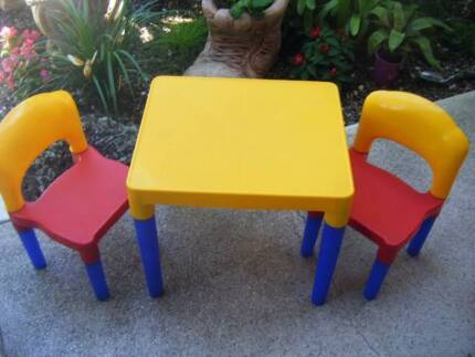 CHILDREN'S TABLE AND CHAIRS Silkstone Ipswich City Preview