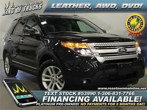 2013 Ford Explorer XLT All-Wheel Drive | DVD | PST PAID