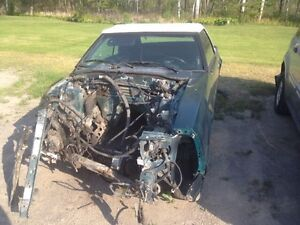 """PARTING OUT OR COMPLETE 1990 Mustang 5.0 vert """"7up car"""""""