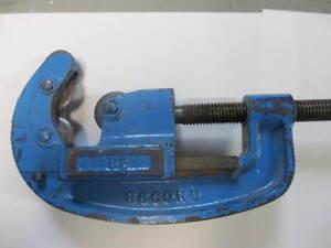 """Pipe cutter / coupe tuyaux Record 1/2"""" - 2"""" Gatineau Ottawa / Gatineau Area image 3"""