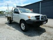 2007 Toyota Hilux GGN25R MY08 SR Silver 5 Speed Manual Cab Chassis Kippa-ring Redcliffe Area Preview