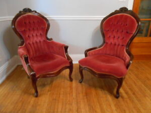 Vintage Baetz Victorian Reproduction Chairs 2 for $100.00