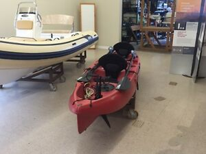 Hobie Mirage Outfitter  2 person sit on Kayak