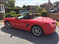 A stunning low mileage example of a Porsche Boxster, Generation 2