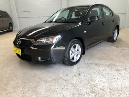 2008 Mazda 3 BK10F2 Maxx Black Sports Automatic Sedan North Manly Manly Area Preview