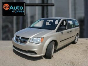 2015 Dodge Grand Caravan CVP, 3.6L V6, Stow'n Go, Cloth, Power H