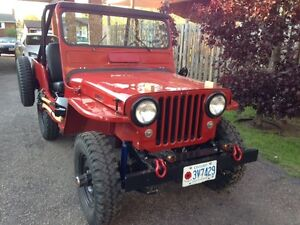 1948 CJ2A Willy's Jeep