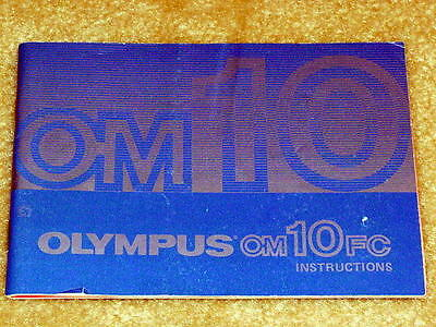 Инструкции и руководства OLYMPUS OM-10FC OPERATING