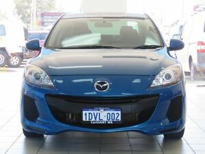 2012 Mazda 3 BL 11 Upgrade Neo Blue 6 Speed Manual Sedan Morley Bayswater Area Preview