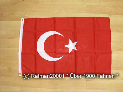Fahnen Flagge Türkei - 60 x 90 cm