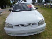 2002 Hyundai Accent White Automatic Hatchback Maddington Gosnells Area Preview