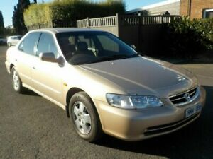 2002 Honda Accord V6-L 25th Anniversary Gold 4 Speed Automatic Sedan Newtown Geelong City Preview