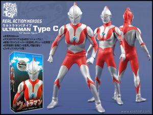Medicom Toy RAH Ultraman C type ver2.0 action figure - MINT