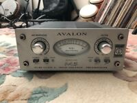 Avalon M5 Pure Class A microphone preamplifier