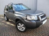 Land Rover Freelander 2.0 TD4 SE, Half Leather, Very Very Low Miles and Superb Service History