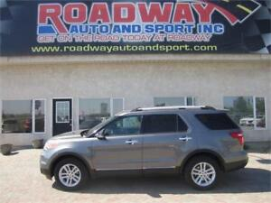 2013 Ford Explorer XLT   PST Paid  Leather  Pan Roof  7 Passenge