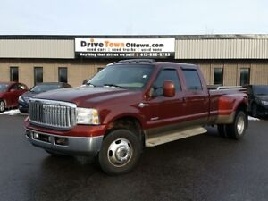 2005 Ford Super Duty F-350 KING RANCH CREW DUALLY 4X4 DIESEL