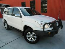 2006 Toyota Landcruiser Prado GRJ120R GXL White 5 Speed Automatic Wagon Molendinar Gold Coast City Preview