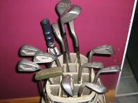Sac de golf et bâtons DROITIER clubs RIGHT HANDED