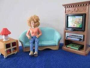 Fisher Price Doll House Furniture, Decor & Little People Morayfield Caboolture Area Preview