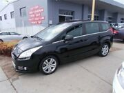 2013 Peugeot 5008 Active 1.6T Black 6 Speed Automatic Wagon Fyshwick South Canberra Preview