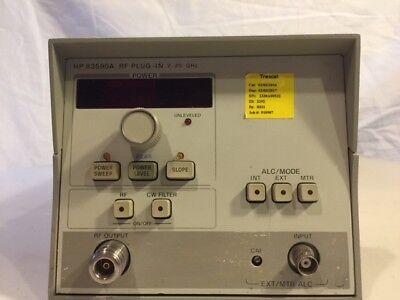 Hp - Agilent - Keysight 83590a Sweep Generator Module