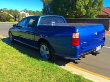 2005 Holden Crewman VZ Storm S Blue 4 Speed Automatic Utility North Brighton Holdfast Bay Preview