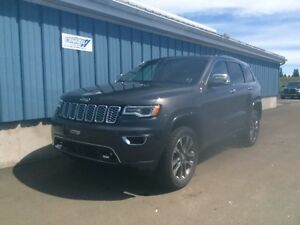 2017 Jeep Grand Cherokee Overland DVD Roof Loaded