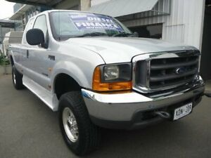 2004 Ford F250 RN XLT Super Cab Silver 4 Speed Automatic Utility Edwardstown Marion Area Preview