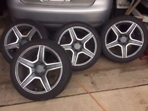 alloy tires and rims for Volks and a bunch of other makes
