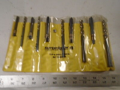 Machinist Tools Lathe Mill Machinist Supertanuim Tap And Drill Set