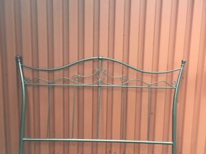 Queen-size Headboard (with metal frame).