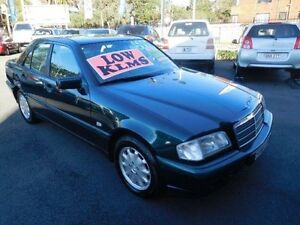 1998 Mercedes-Benz C180 W202 Classic Green 5 Speed Automatic Sedan Waratah Newcastle Area Preview