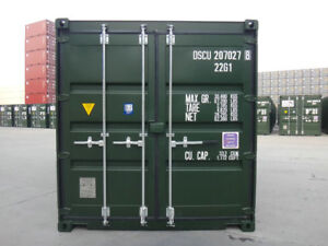 20' Shipping Containers New/One Trip - Monthly Payments -  PG