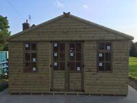 12 x 10 Loplap summerhouse. New