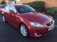 LEXUS IS220D, FULL LEXUS HISTORY, SAT NAV, REVERSE CAMERA, HEATED LEATHERS, TOP SPEC £2900