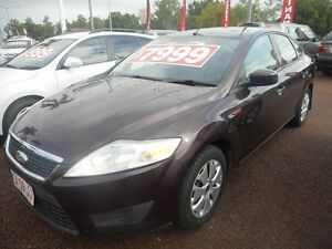 2009 Ford Mondeo MA LX Purple 6 Speed Sports Automatic Sedan Winnellie Darwin City Preview
