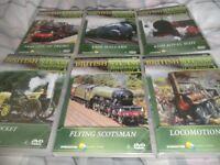 D'Agostini British Steam Railways DVDs, nos 1-70