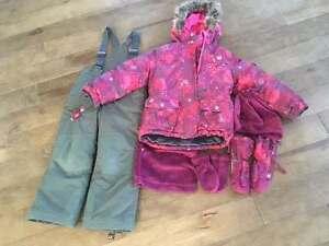 Habit d'hiver Souris Mini - Fille - 4 ans