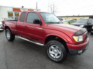 2003 TOYOTA TACOMA EXTENDED CAB TRD AUTOMATIC 4X4 SUNROOF