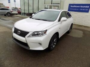 2013 Lexus RX 350 F-SPORT/NAVIGATION/LEATHER/SUNROOF/BACKUP CAME