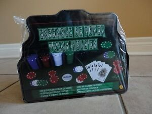 Brand new sealed Texas Hold'em Poker Set 200 pieces London Ontario image 7