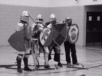 Medieval Combat Group meets weekly for practices