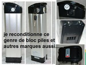 Reconditionnement de batteries au li-ion, vélo, outils etc...
