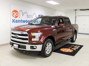 2015 Ford F-150 LARIAT V8! LEATHER. NAV. TWIN PANEL MOONROOF!