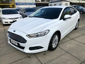 2015 Ford Mondeo MD Ambiente TDCi Frozen White 6 Speed Automatic Hatchback