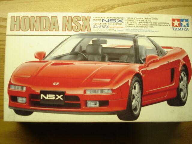 Tamiya 1 24 Scale Honda Nsx Model Kit Ebay