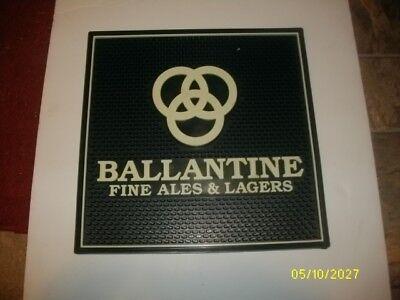 BRAND NEW BALLANTINE ALE BEER SERVER STATION MAT RAIL BAR MAT