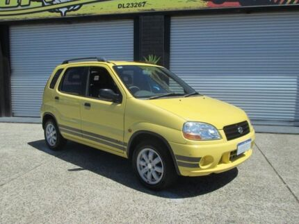2001 Suzuki Ignis GL Yellow 5 Speed Manual Hatchback O'Connor Fremantle Area Preview
